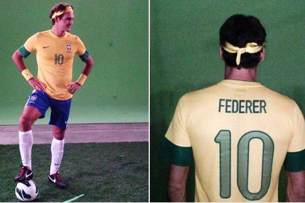 Η… βραζιλιάνικη προετοιμασία του Φέντερερ (photos)