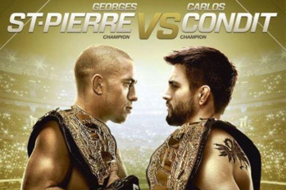 UFC 154: Το πόστερ του «St. Pierre vs Condit»