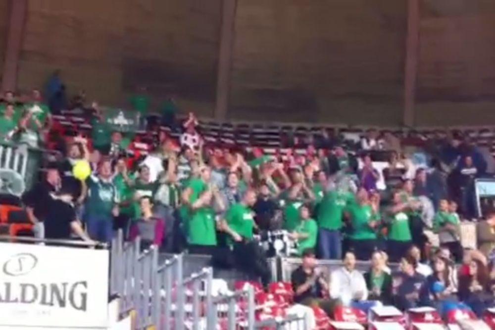 Παναθηναϊκός: «Πράσινη» κερκίδα στη Γερμανία (video)