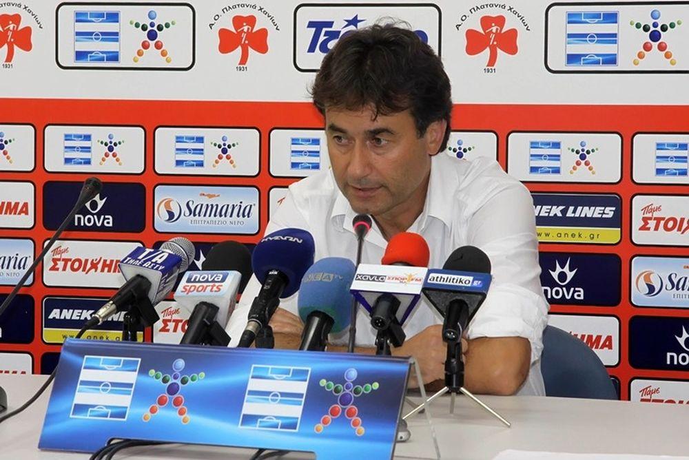 Χατζηνικολάου: «Κερδίσαμε βαθμούς και τρεις παίκτες»