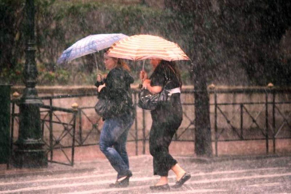 Βροχερός ο καιρός σήμερα...