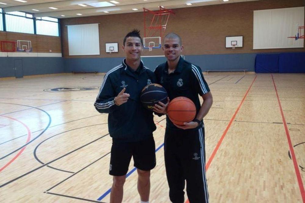 Ρεάλ Μαδρίτης: «Πρώτος» και στο μπάσκετ ο Ρονάλντο!