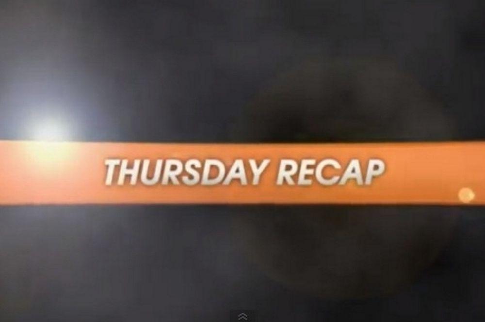 Ευρωλίγκα: Η ανασκόπηση της Πέμπτης 25/10 (video)