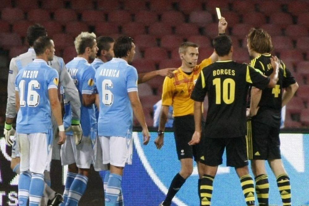 Περιπέτειες με την UEFA για τη Νάπολι
