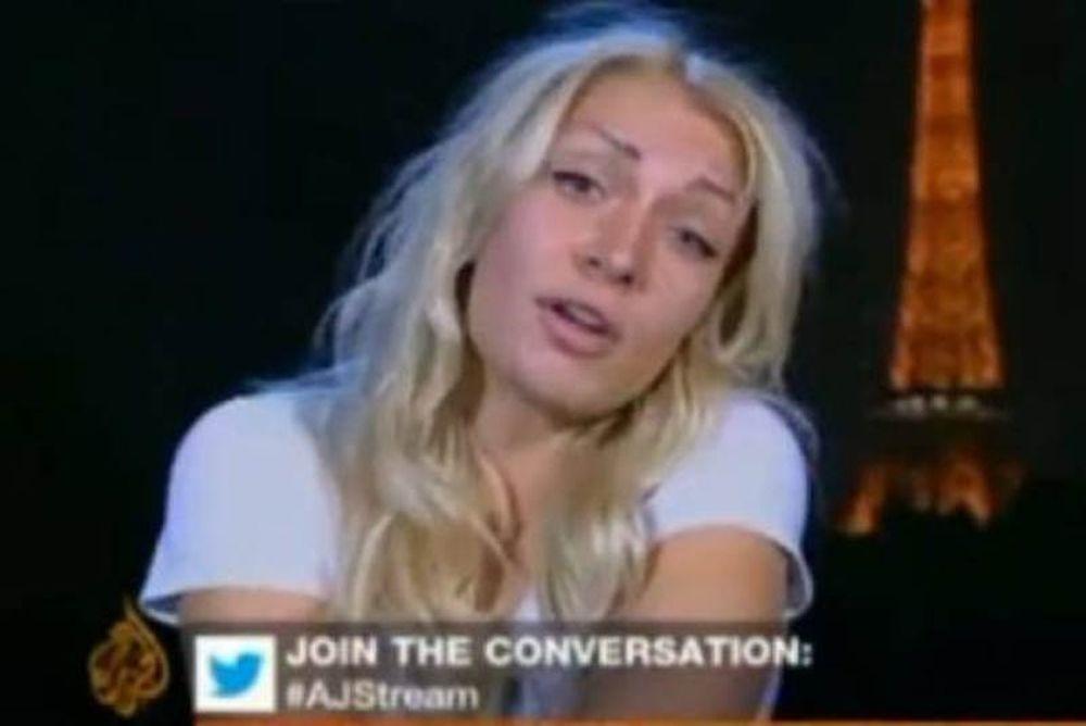 Η FEMEN... ξαναχτύπησε!