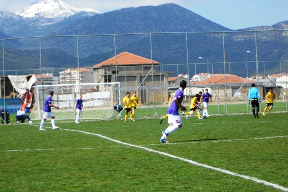 Λεβαδειακός-Αστέρας Τρίπολης 1-2 (Κ20)