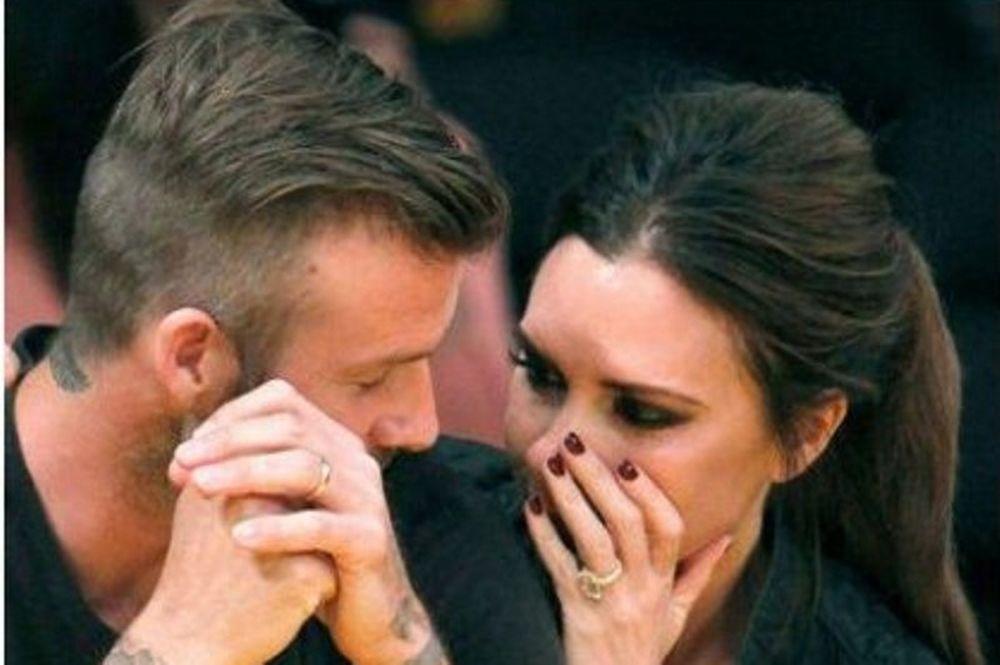 H Victoria Beckham έφαγε τον David κυριολεκτικά (φωτό)