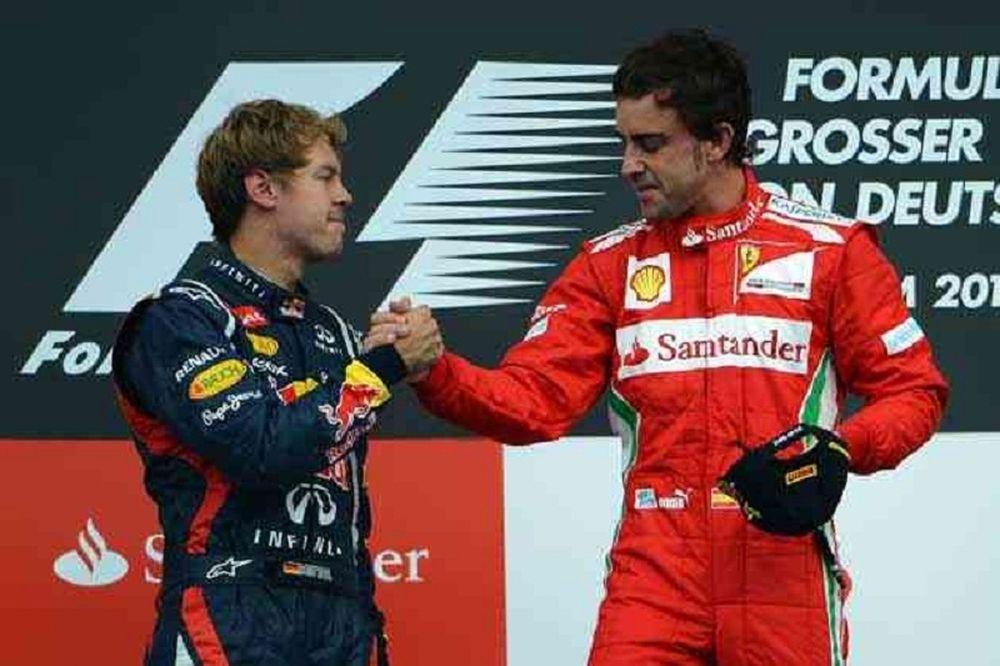 Formula 1: Φέτελ ή Αλόνσο; (photos+videos)