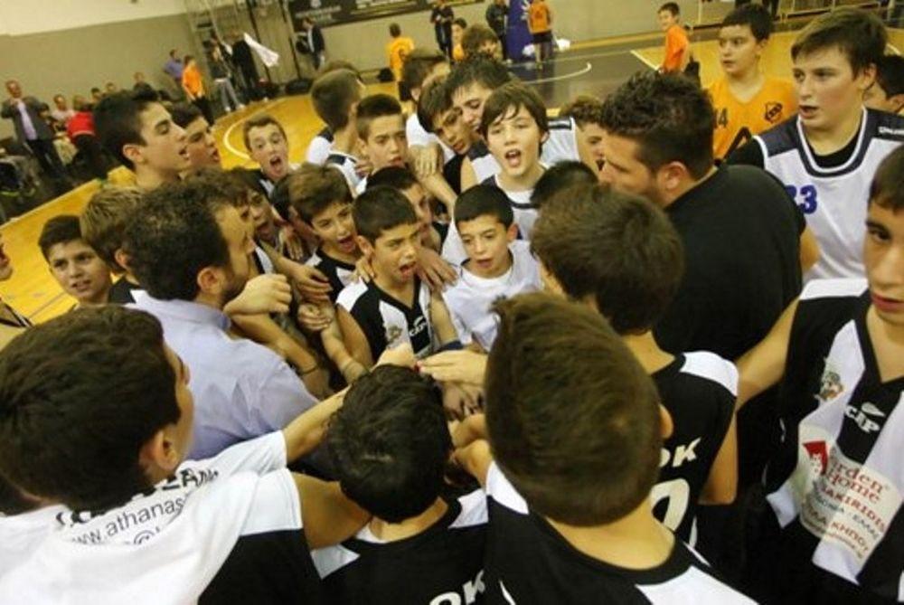 ΠΑΟΚ: Το τουρνουά Φιλίας του PAOK Junior Basketball Program