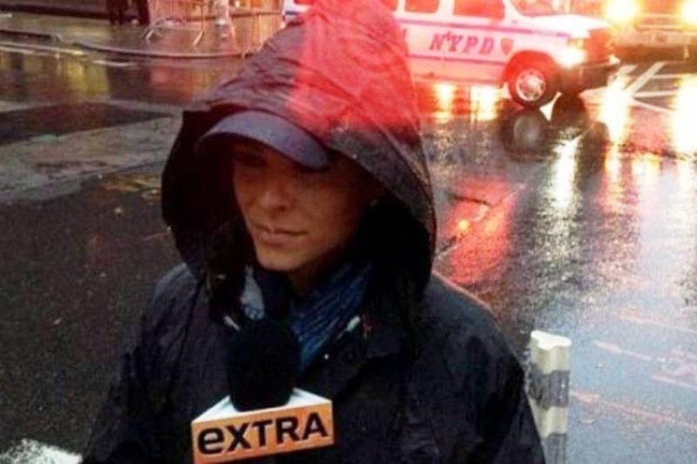 Δείτε τις φωτογραφίες που πόσταρε στο twitter η Μαρία Μενούνος από τον τυφώνα Σάντι