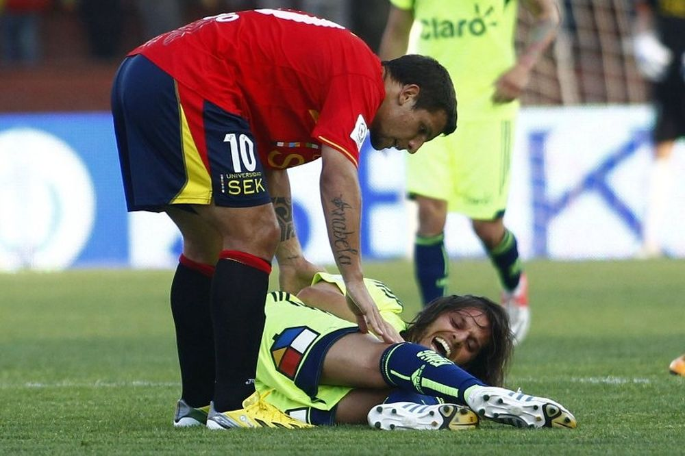 Απίστευτος τραυματισμός στη Χιλή! (video)