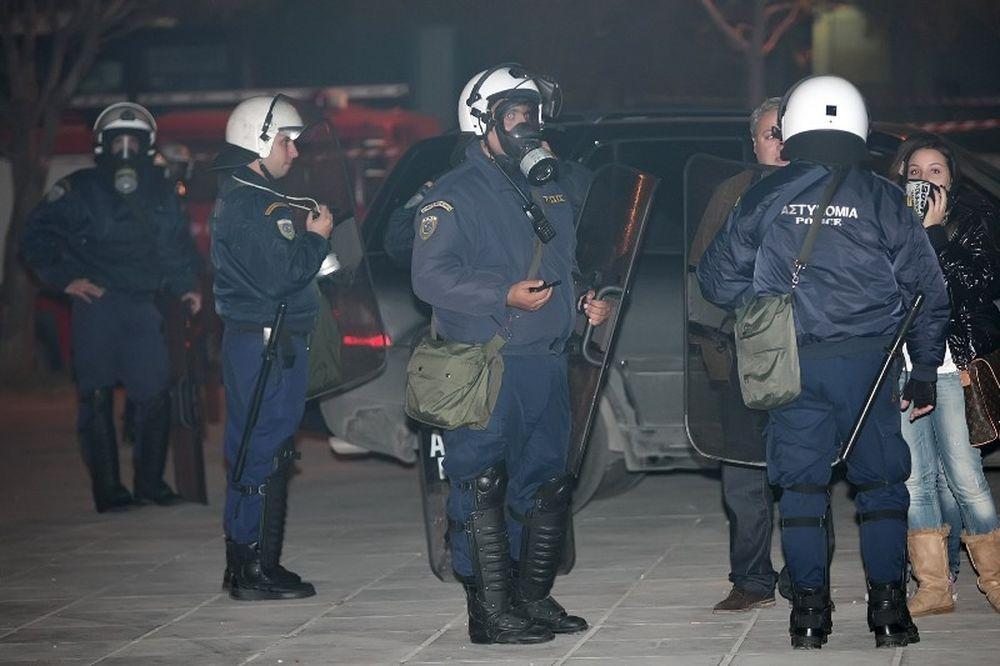 ΠΑΟΚ: Επεισόδια οπαδών με την Αστυνομία!