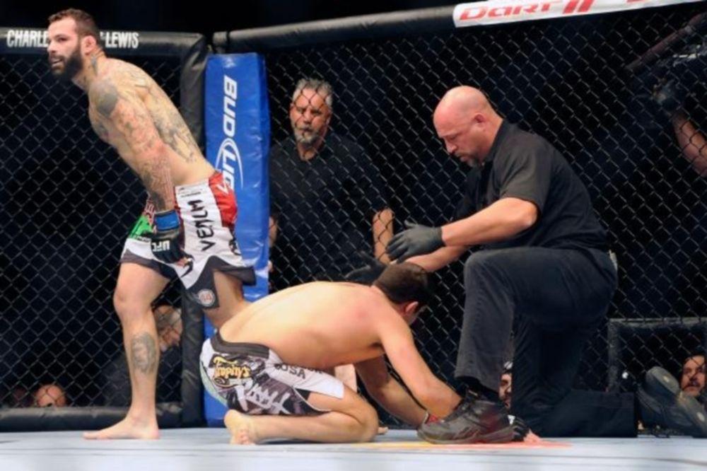 UFC: Απορρίφθηκε η έφεση του Sakara