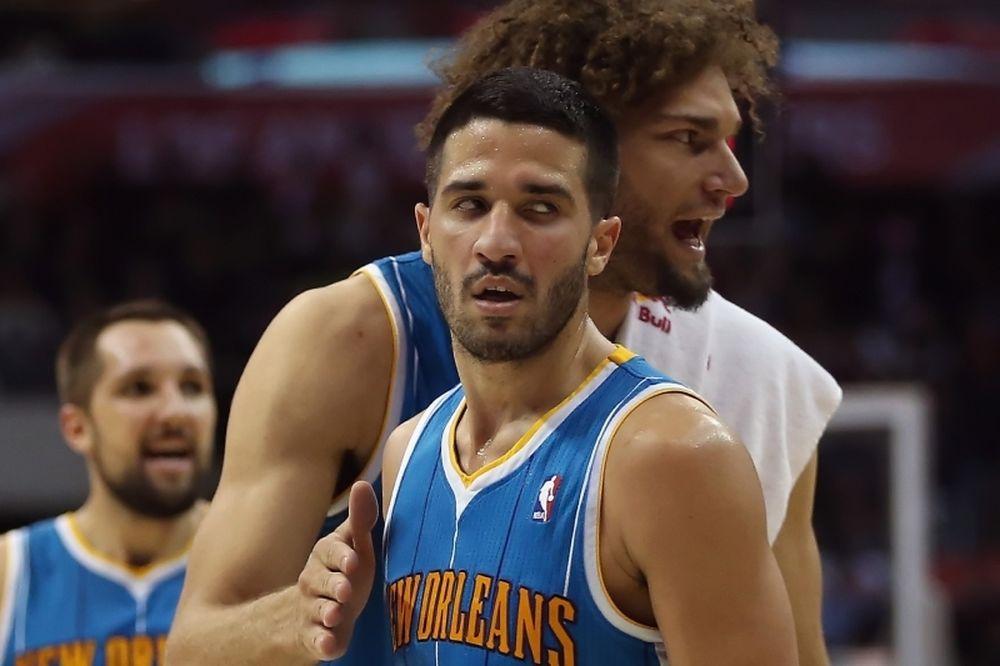 Νιου Ορλίνς Χόρνετς: Πέρασαν από «Staples Center» (video)
