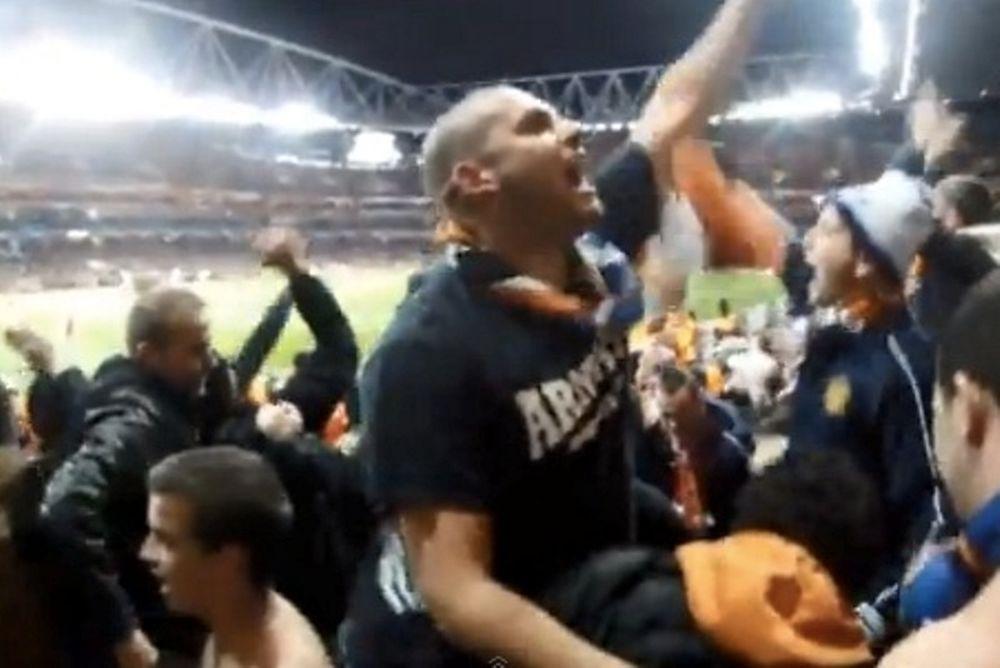 Μονπελιέ: Προσποιήθηκαν... γκολ με Άρσεναλ οι οπαδοί! (video)