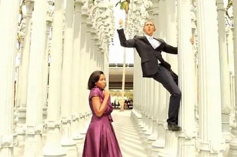Δείτε τον Ομπάμα να χορεύει και να τραγουδά το Gangnam Style (video)