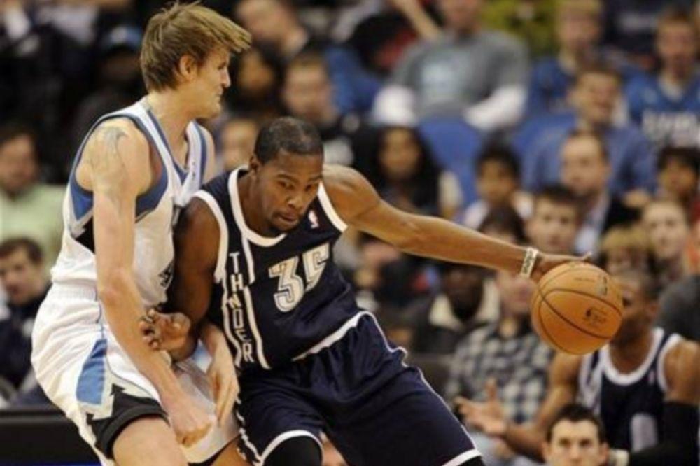 NBA: Στάση για Θάντερ στη Μινεάπολις