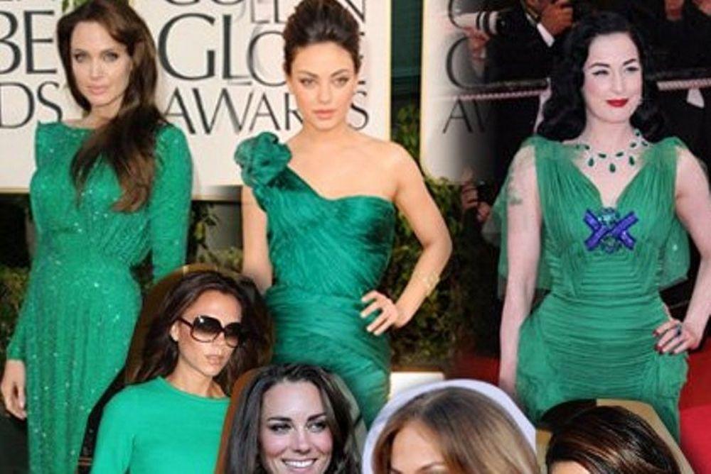Πράσινο σμαραγδί: δείτε ποιες star προτιμούν το επίσημο χρώμα του 2013