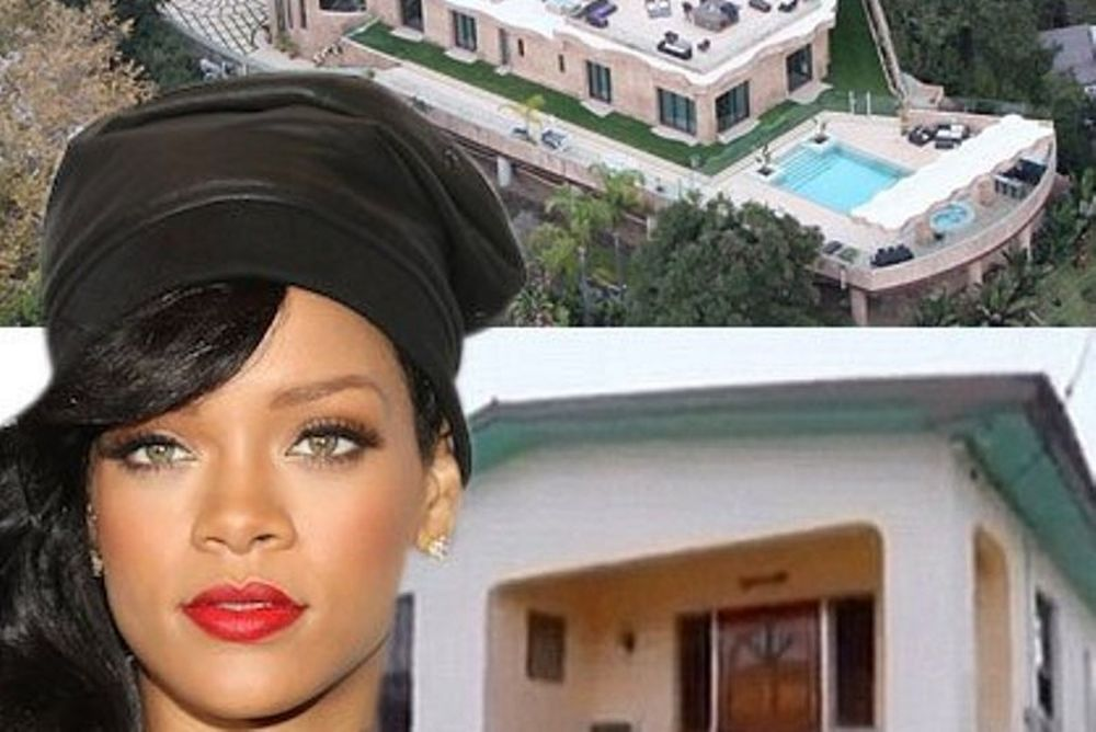 Rihanna: Από το φτωχόσπιτο στα Barbados στην έπαυλη στο L.A (photos)