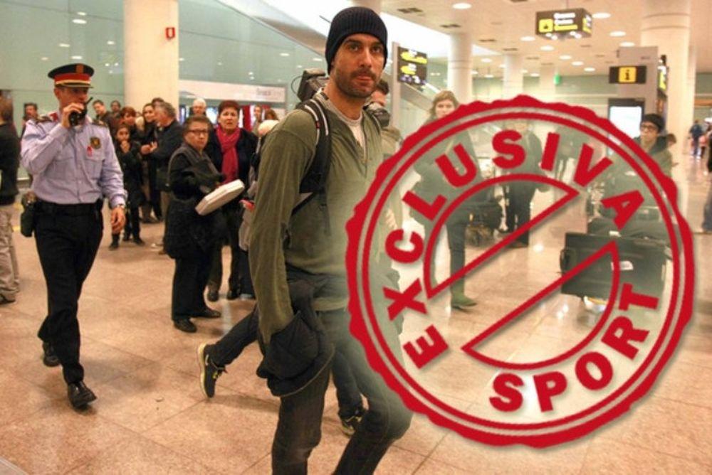 Η επιστροφή του Γκουαρντιόλα στη Βαρκελώνη (photos+video)