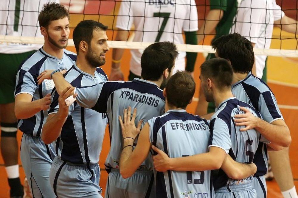 Volleyleague: Μεγάλη… ανάσα για Ηρακλή, 3-2 τον Άρη