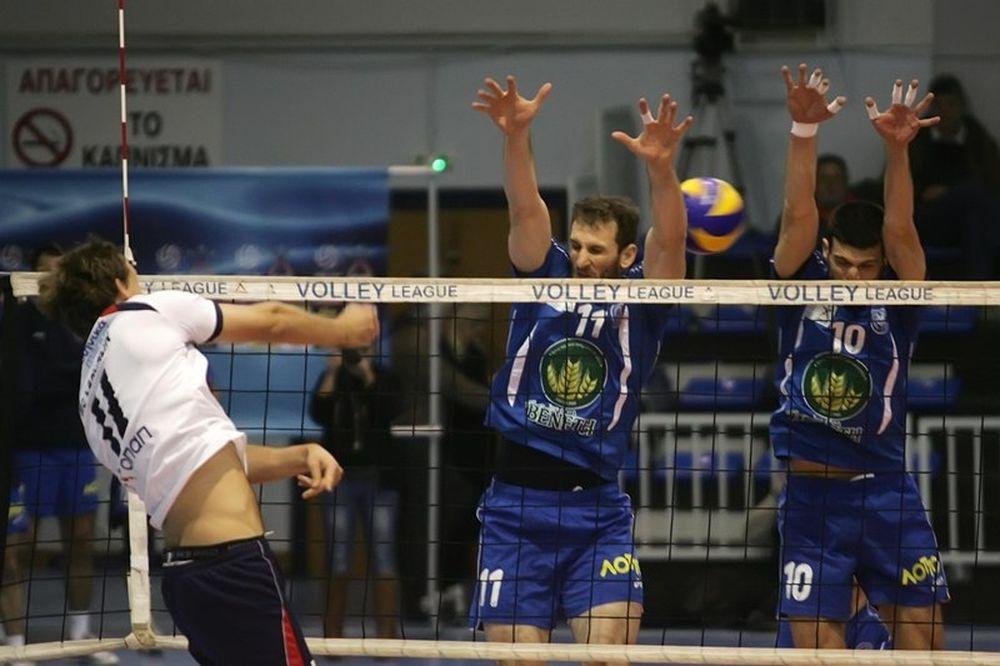 Volleyleague: Αυτόχειρας… ο Παναθηναϊκός