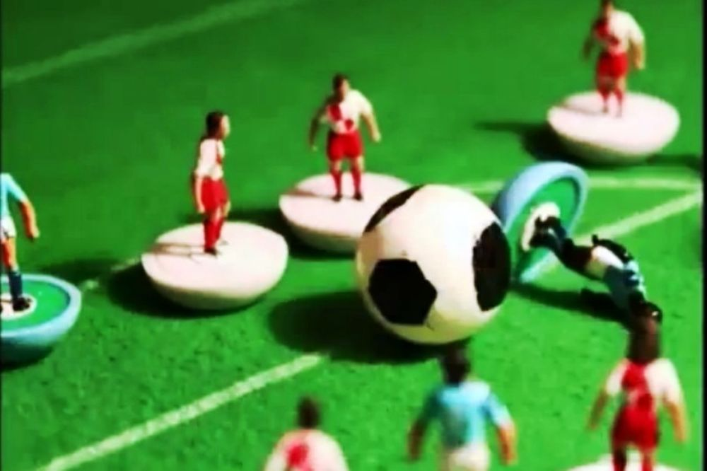 The football toy story of... 2012 (video)
