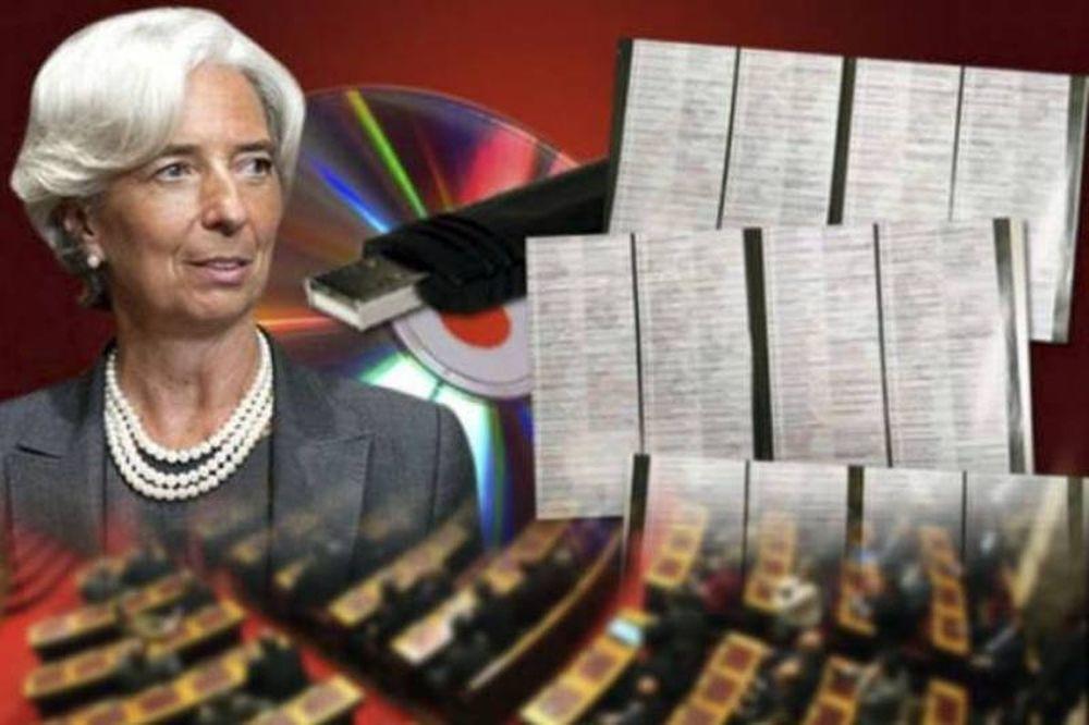 Πολιτική «κόλαση» φέρνει η νέα λίστα Λαγκάρντ