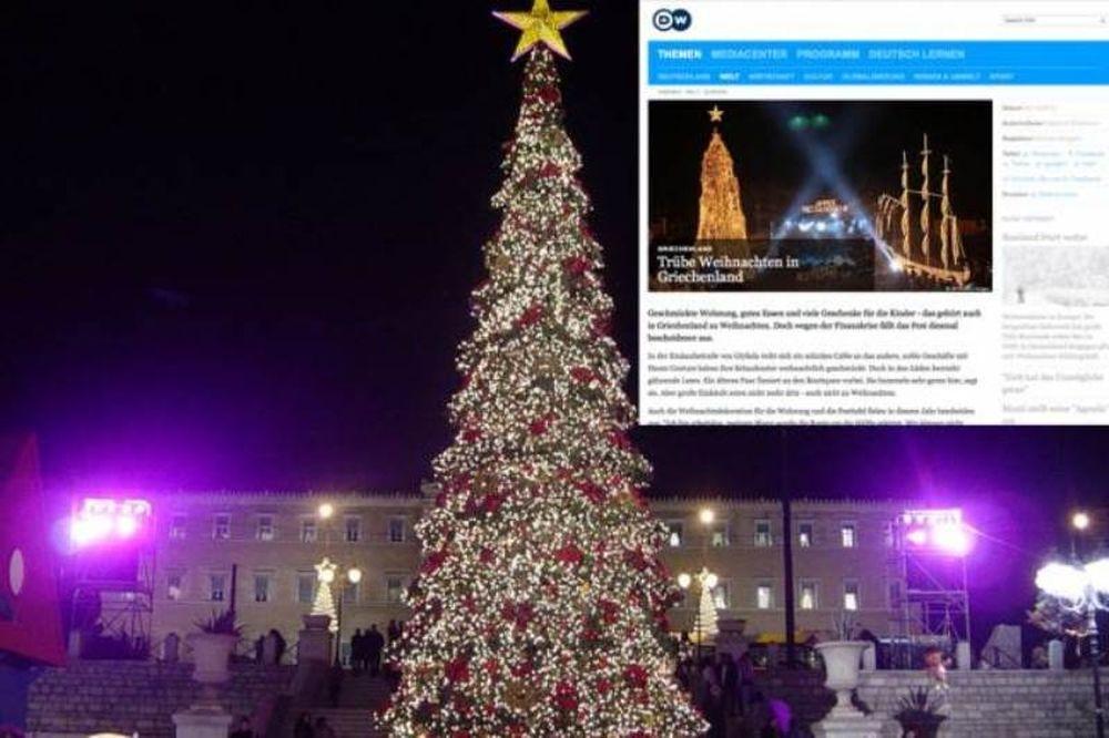 Deutsche Welle: «Θλιβερά Χριστούγεννα στην Ελλάδα»