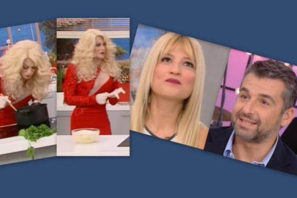 Η Ελένη Μενεγάκη στο «Πρωινό mou». Γιώργος Λιάγκας: «Λάθος άνθρωπο παντρεύτηκα»!