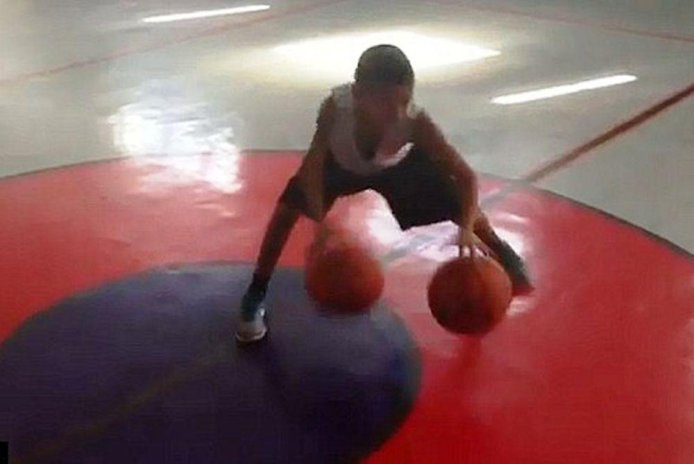 Ο 11χρονος μάγος του μπάσκετ (video)