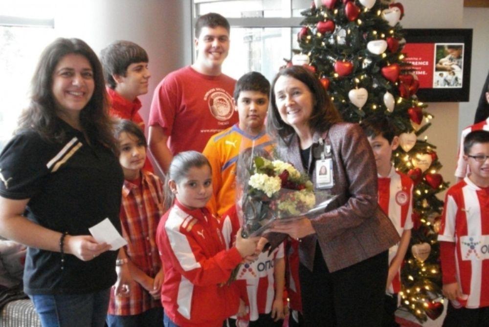 Ολυμπιακός: Οι Σχολές κοντά στα παιδιά!