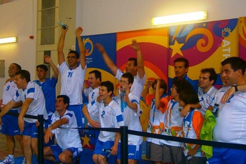 Άρης Νίκαιας: Φιλικό με την Εθνική ομάδα Special Olympics