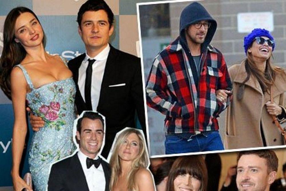 Τοp 5: Τα πιο sexy ζευγάρια του Hollywood (photos)