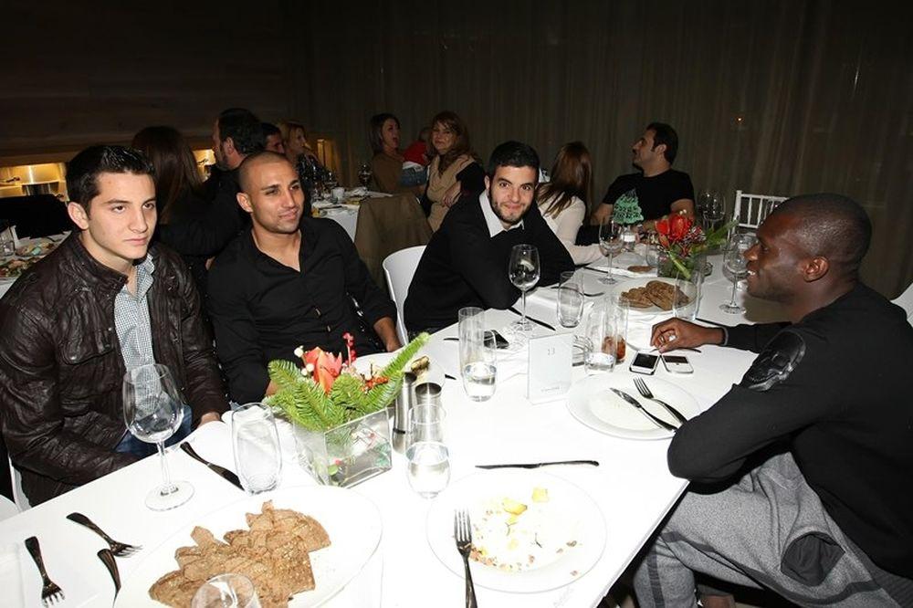 Ολυμπιακός: Δείπνο ενότητας στο «V'ammos»