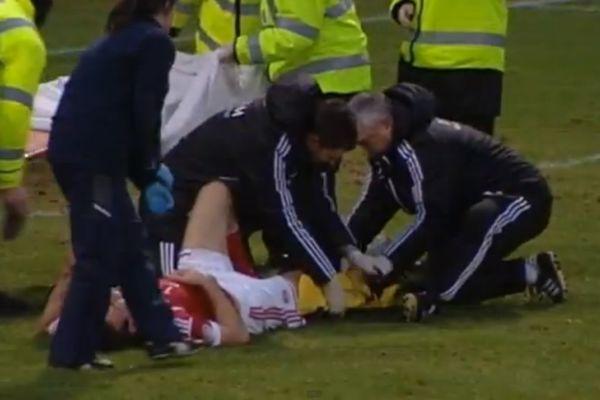 Σοκαριστικός τραυματισμός στη Σκοτία! (video)