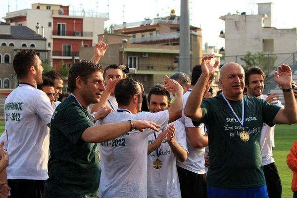 Ανασκόπηση 2012 – Football League – Πρωταθλητής στο... νήμα ο Πανθρακικός (photos+videos)