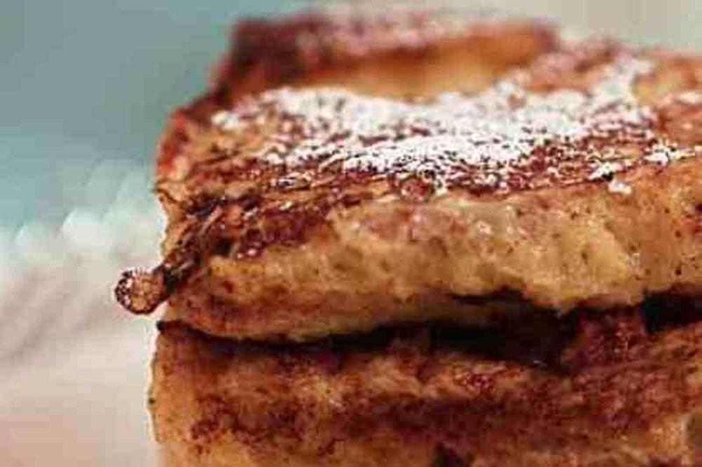 Πρωτοχρονιάτικο πρωινό: Τηγανίτες από τσουρέκι