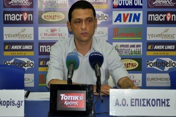 Σταματόπουλος: «Το ελληνικό ποδόσφαιρο έχει ανάγκη τον Στέλιο Γιαννακόπουλο»