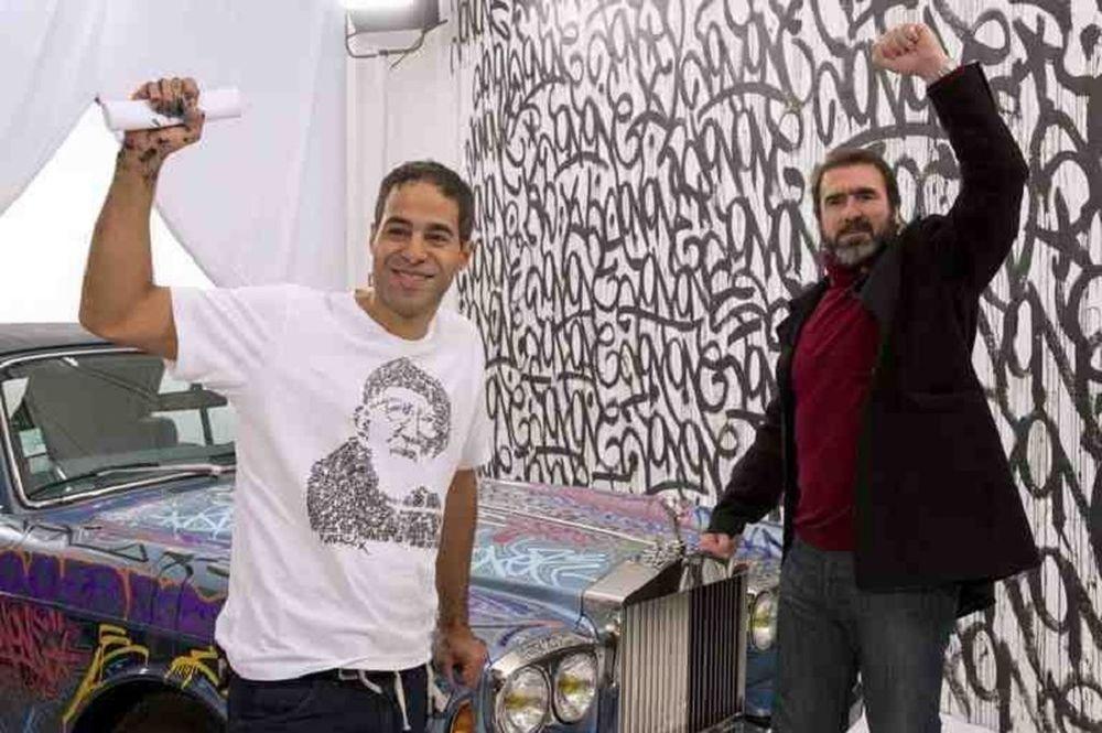 Καντονά: Έκανε... γκράφιτι στη Rolls Royce του για φιλανθρωπικό σκοπό (photos+video)