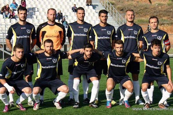 Παρνασός-Ένωση Ερμιονίδας 0-4