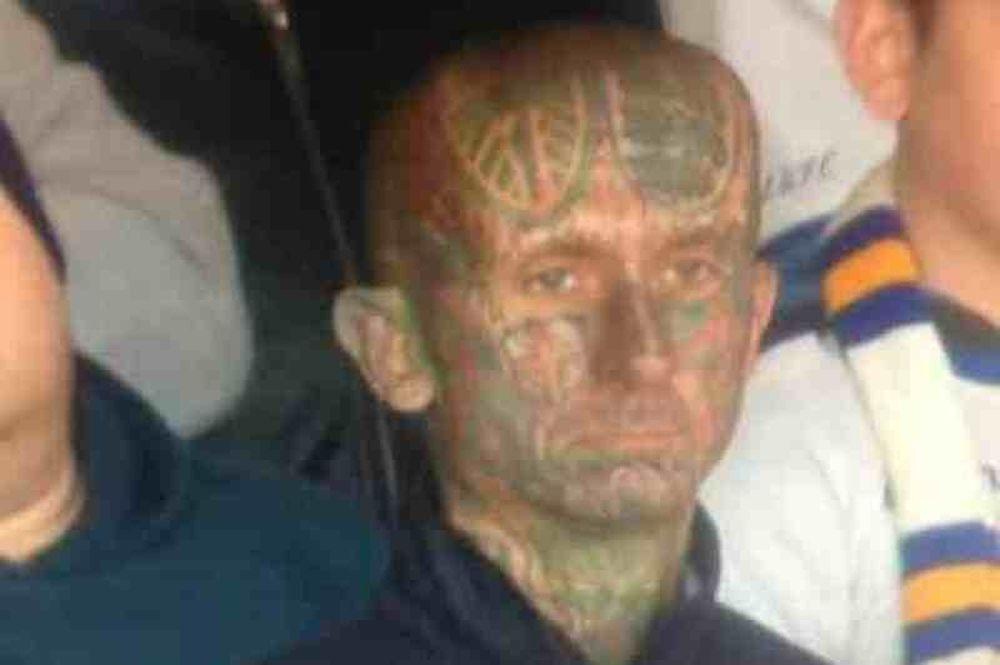 Λιντς: Ο οπαδός με πρόσωπο γεμάτο τατουάζ!