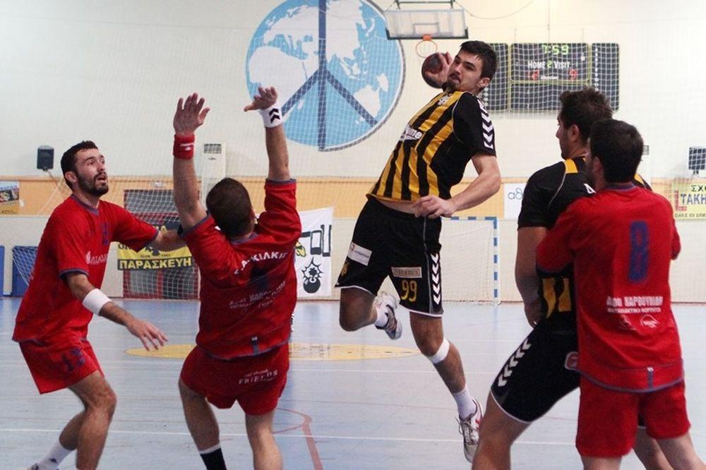 Α1 Χάντμπολ Ανδρών: MVP ο Δημάκης του Κιλκίς