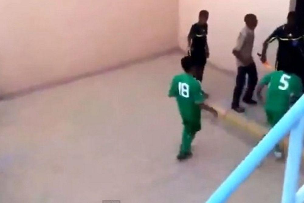 Σαουδική Αραβία: Πήραν στο «κυνήγι» τον διαιτητή! (video)