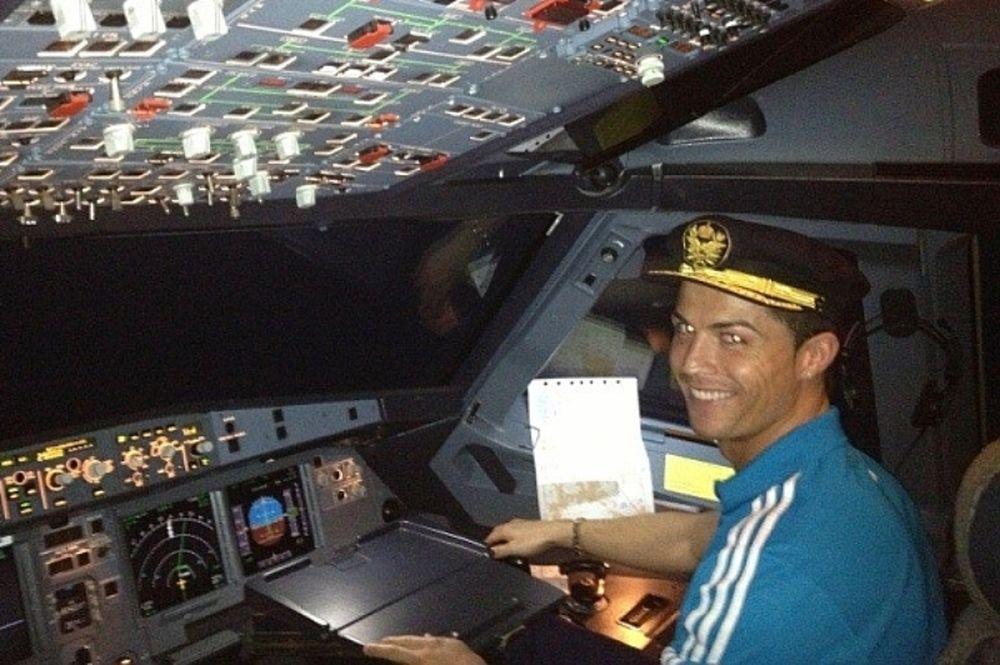 Ρεάλ Μαδρίτης: Πιλότος ο Ρονάλντο!