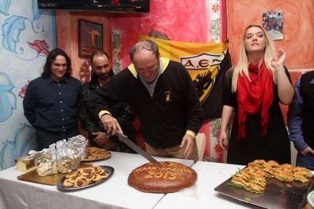 ΑΕΚ: Έκοψαν την πίτα τους τα τμήματα Χάντμπολ (photos)