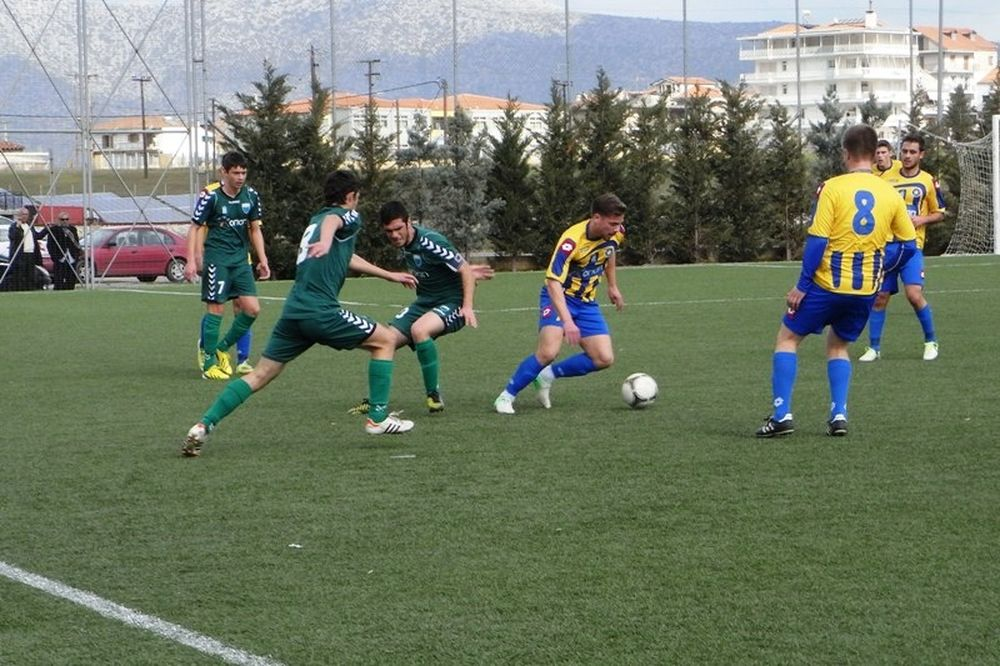 Αστέρας Τρίπολης-Λεβαδειακός 0-1 (Κ20)