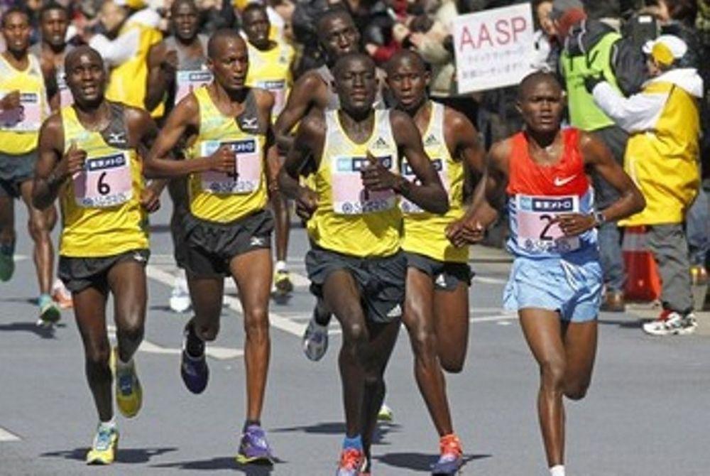 Κυριαρχία Κένυας και Αιθιοπίας στο μαραθώνιο του Τόκιο