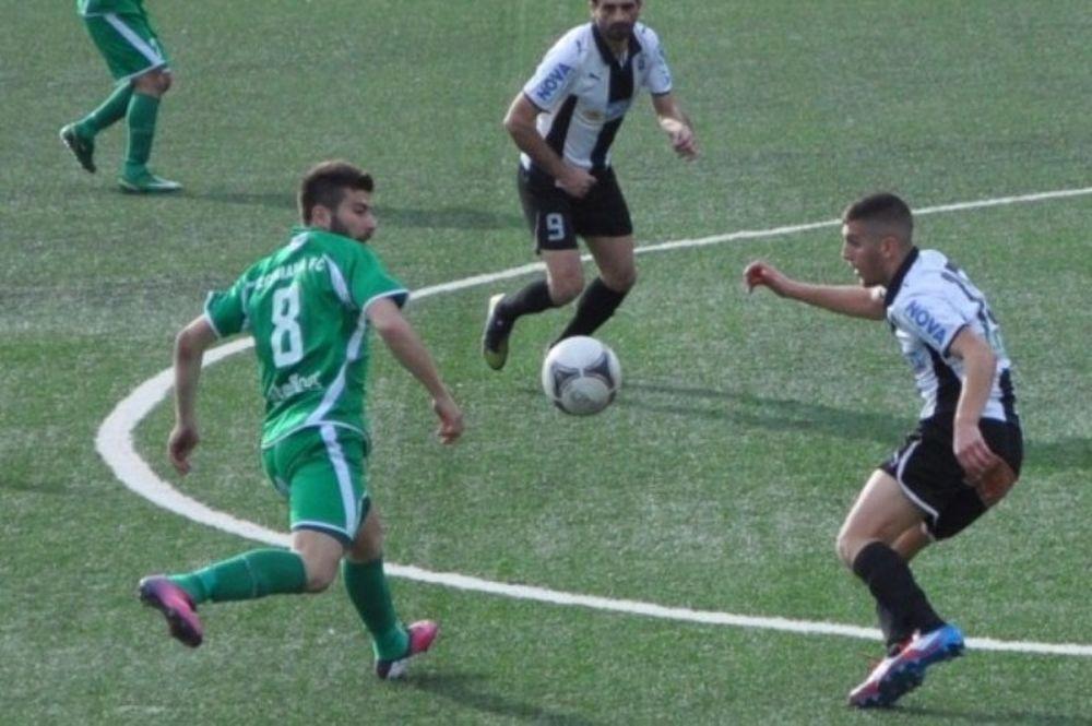 Ερμής Ζωνιανών-ΠΑΟ Κρουσσώνα 0-2