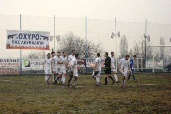 Λευκάδια-Μακεδονικός Κοζάνης 3-0